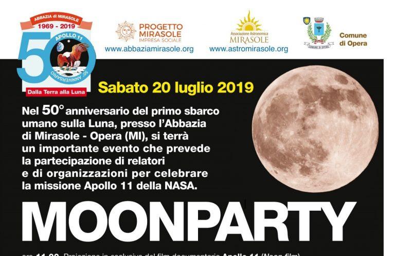 MoonParty – Informazioni logistiche e programma