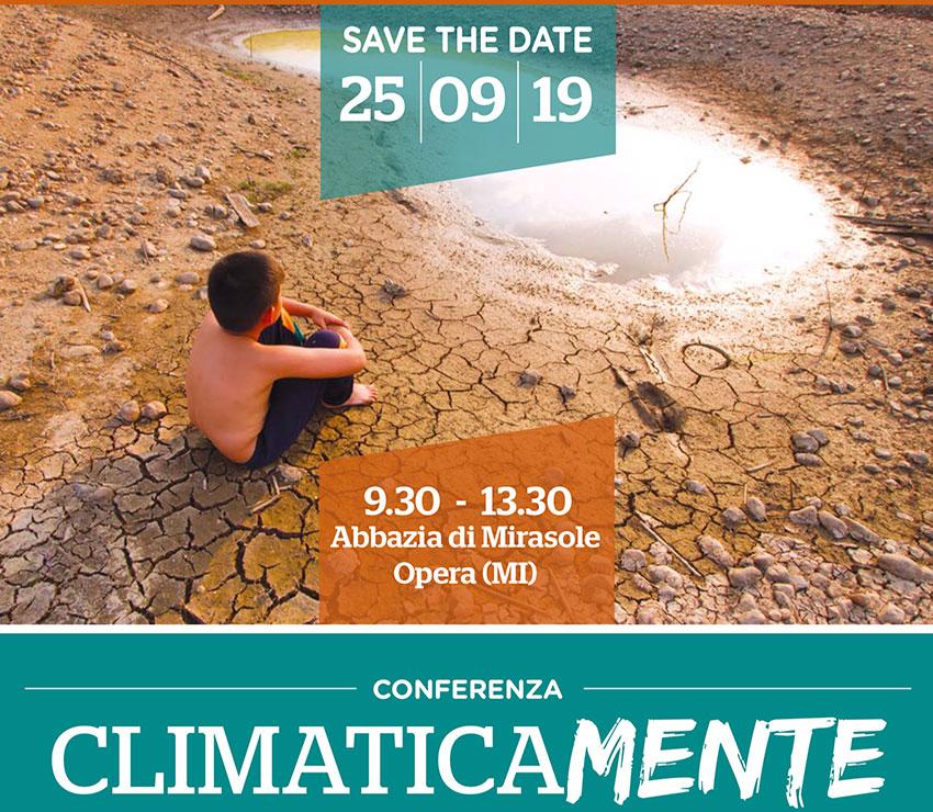 Save the date –  25 settembre 2019 – CLIMATICAMENTE
