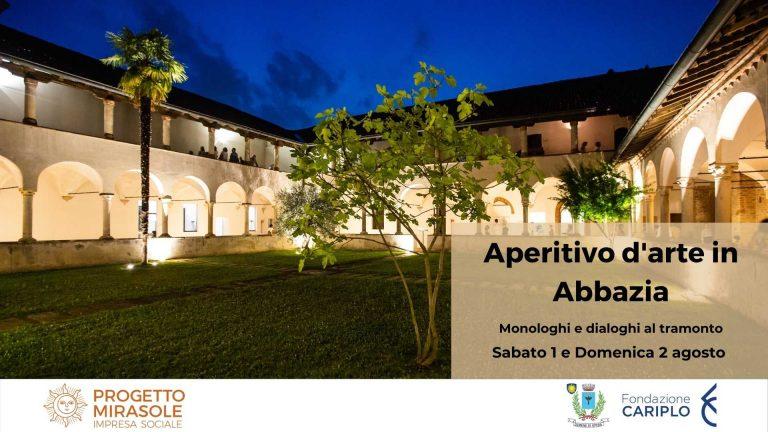 Aperitivo d'arte in Abbazia – monologhi e dialoghi al tramonto
