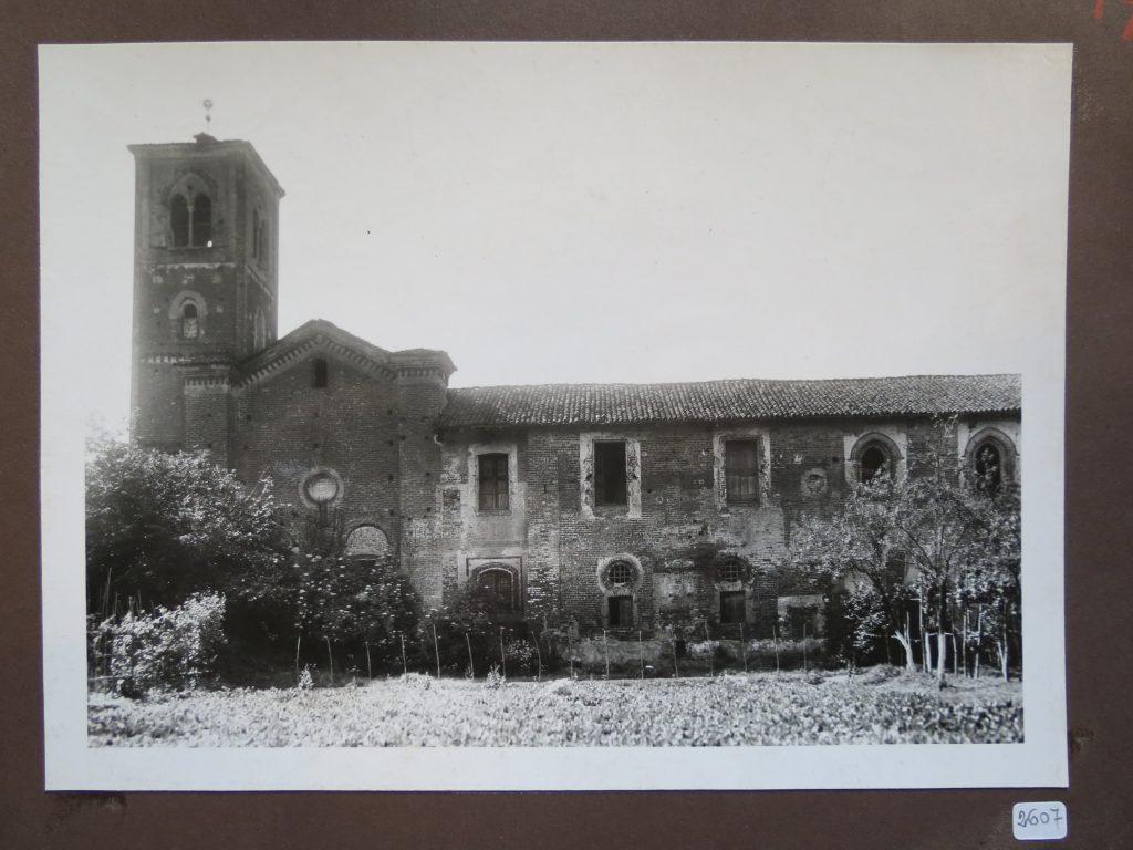 Foto antica del campanile
