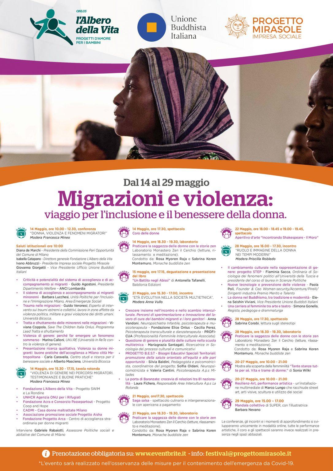 programma festival migrazioni e violenza